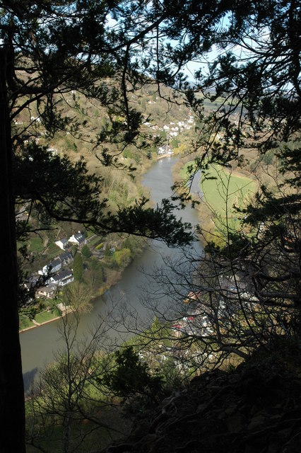The River Wye, Symonds Yat
