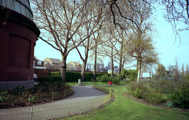 Island Gardens, Millwall