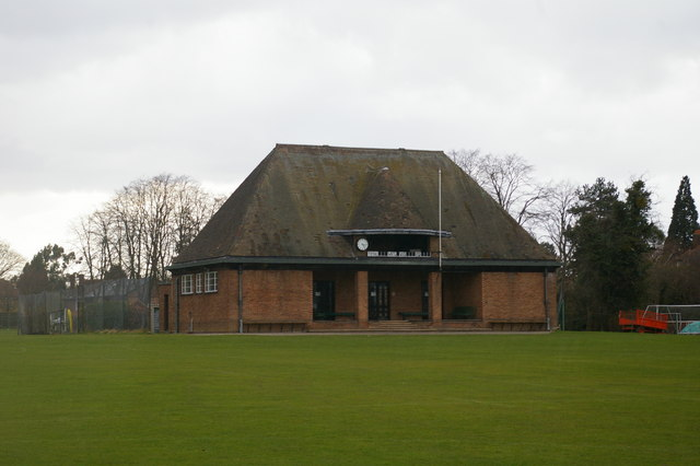 Pavilion on St John's playing fields