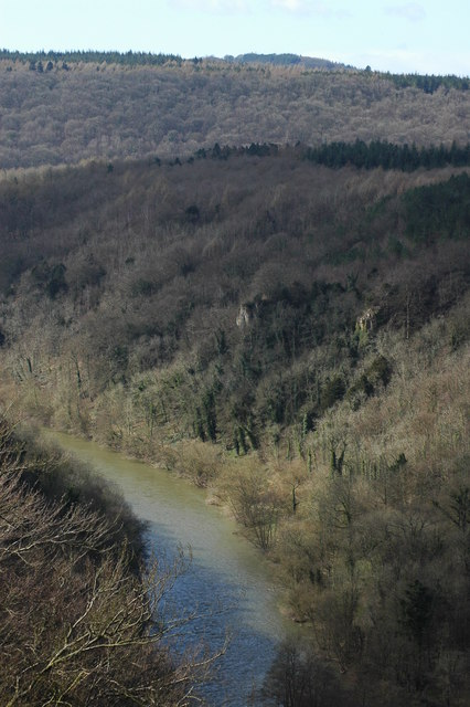 The River Wye from near Yat Rock