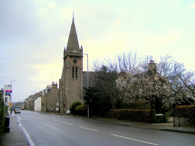 The High Street at Fochabers