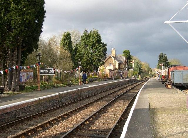 Hampton Loade Station, Severn Valley Railway
