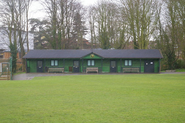 Pavilion on St John's playing fields