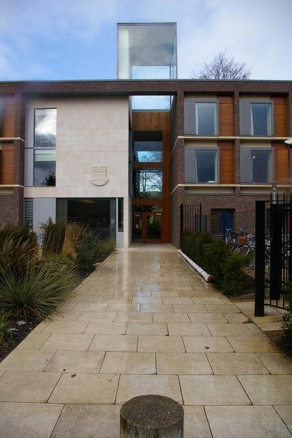 Fitzwilliam College porters' lodge