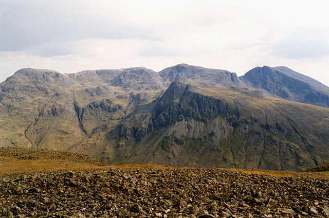 View south southeast from Kirkfell