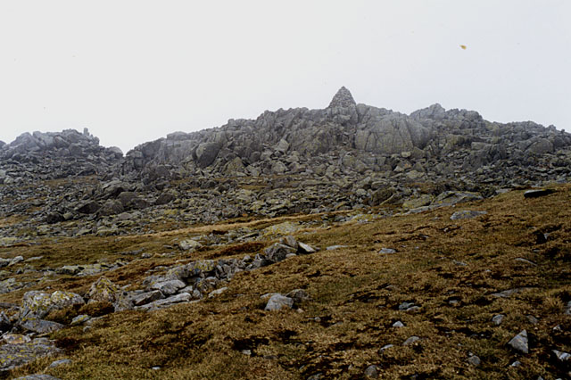 The summit of Lingmell