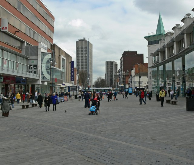 Humberstone Gate in Leicester