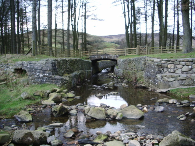 Bridge over Losterdale Brook