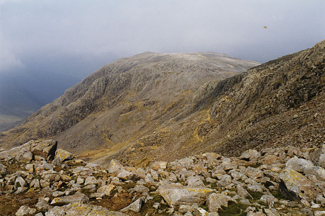 North west slopes of Ill Crag