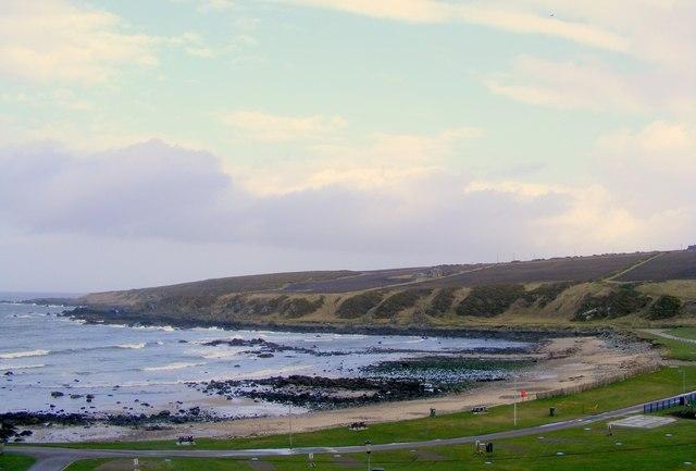Links Bay  at Portsoy