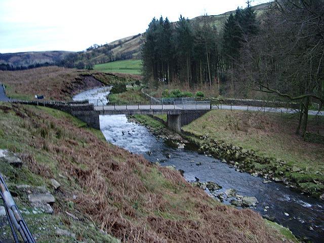 Bridge over Langden Brook