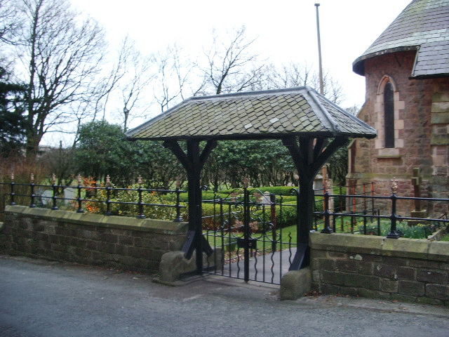 St Hubert's RC  Church, Dunsop Bridge, Lych gate