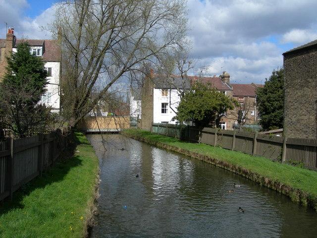New River at Burgoyne Road, N4