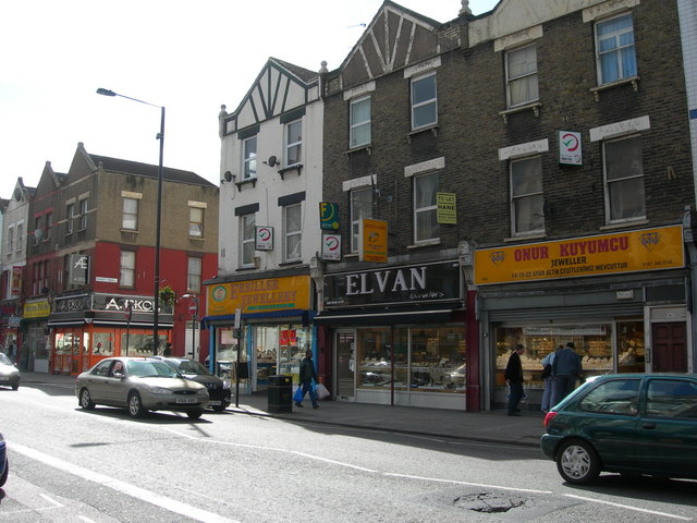 Four Jewellers Shops, Green Lanes, N4