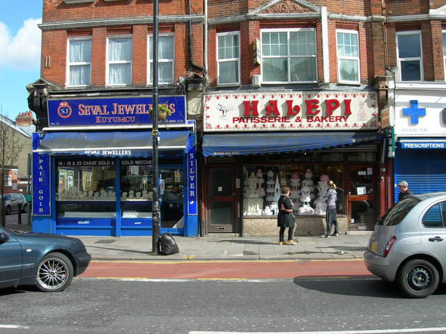 Jeweller and Cake Shop, Green Lanes, N4