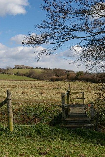 Footbridge on the 1066 Trail