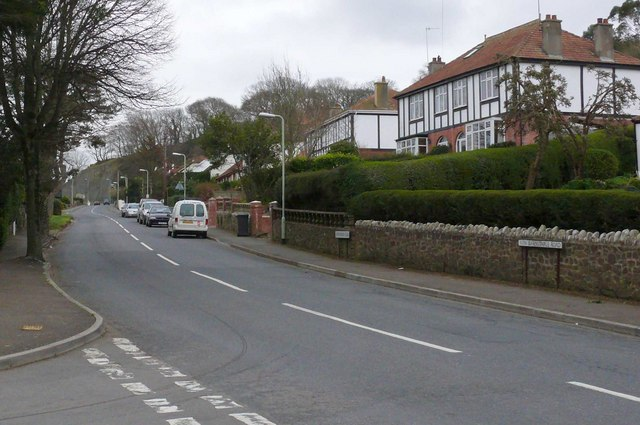 The New Barnstaple Road out of Ilfracombe