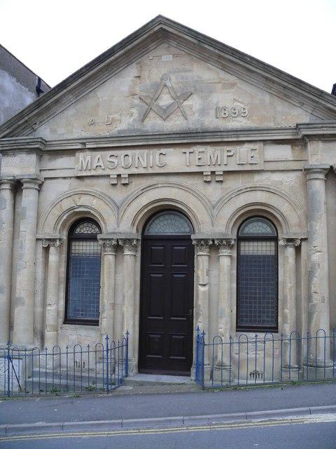 The Masonic Temple on Northfield Road