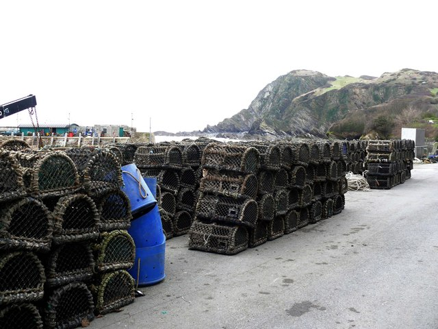 Lobster Pots at Ilfracombe Harbour