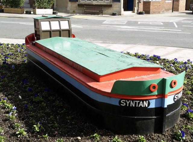 Model Barge