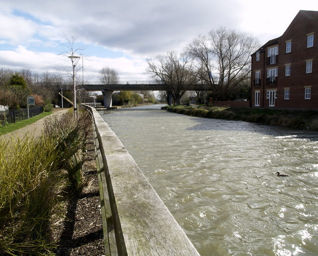 Beverley Beck and the Grovehill Flyover