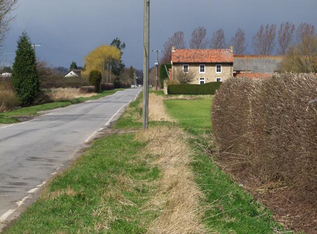 Wallingfen Lane, near Newport