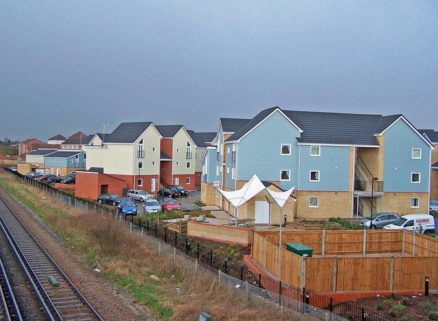 New housing development, Sittingbourne