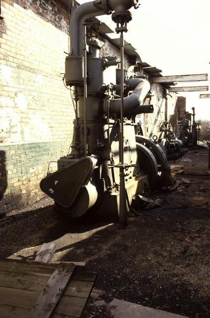 Steam engines, Crowle Brickworks