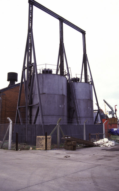 Goole Docks hydraulic power house