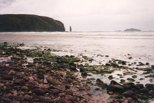 Beach at Sandwood Bay