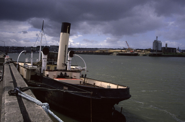 River Medway at Chatham + John H Amos