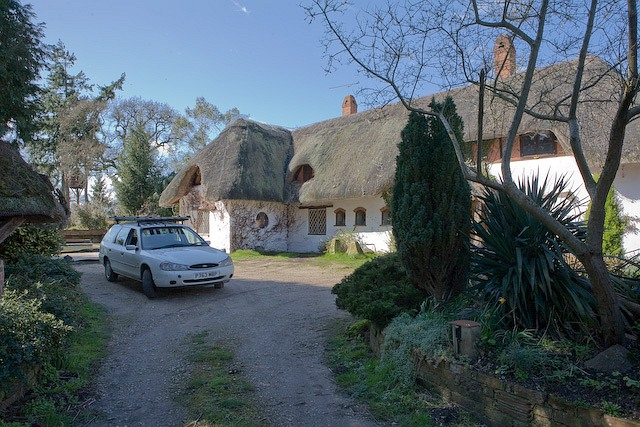 Thatched Cottage, Salisbury Road, West Wellow