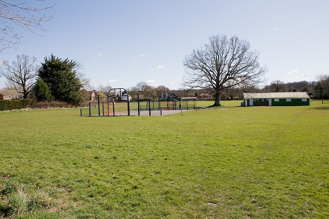 Recreation ground, West Wellow