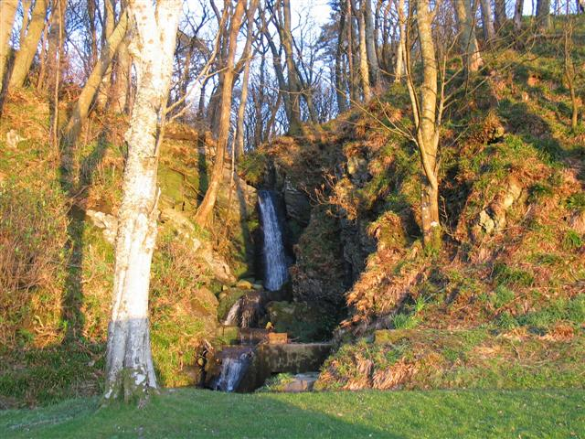 Small waterfall within Killean estate