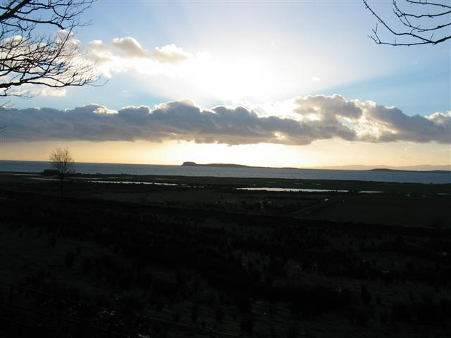 Sunset over Gigha from Killean estate