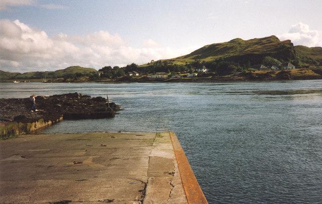 Ferry slipway, Cuan Sound