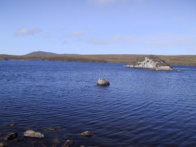 Loch Airigh Seibh and Beinn Rathacleit