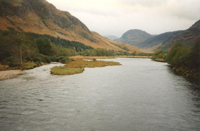 River Elchaig from bridge