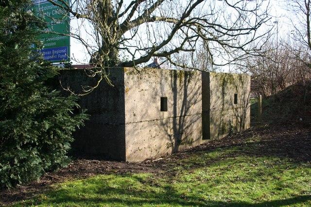 Cemetery pillbox