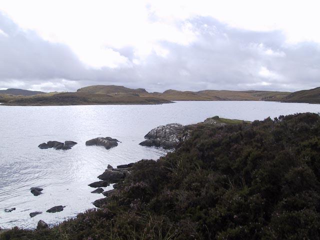Loch Eilastar shoreline