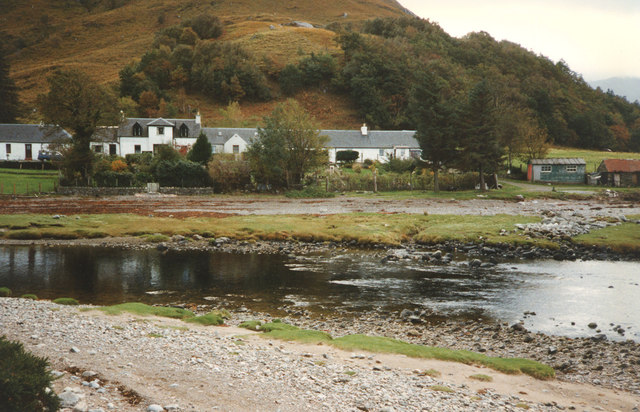 Cottages at Corran from river