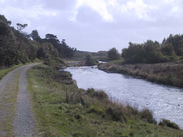 River Creed looking downstream