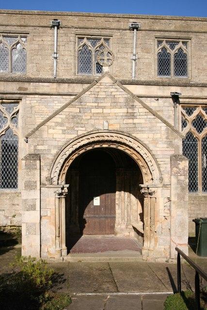 St.Mary's church porch
