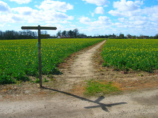 Footpath to Climping