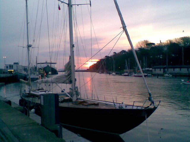 Sunrise over Weymouth Harbour