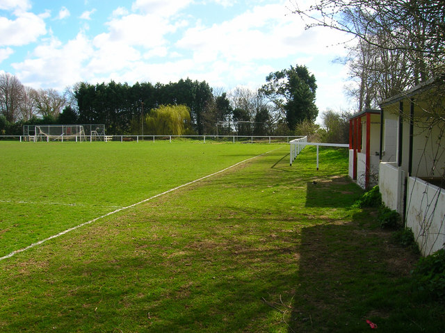 View from the Subs Bench, Clymping FC