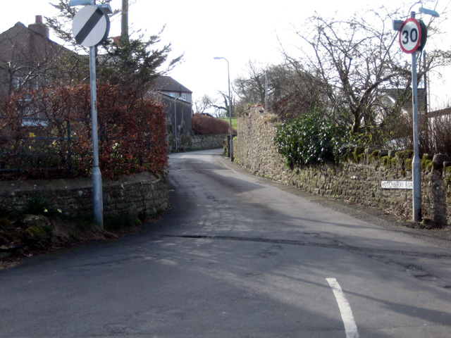 Brigham: junction of Hotchberry Road with High Brigham