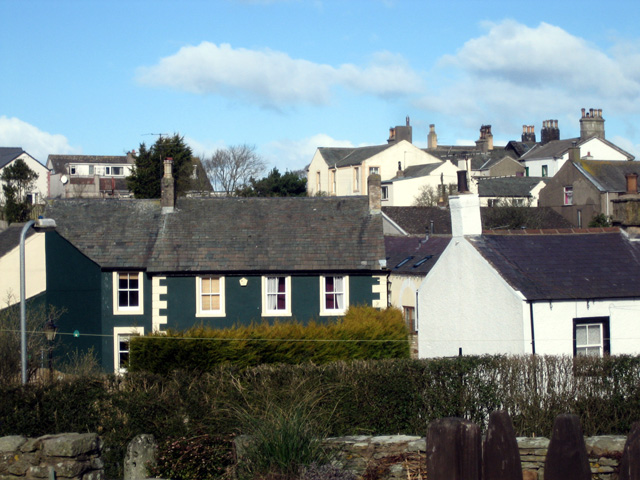 Brigham Hill - the Mansions viewed from High Brigham