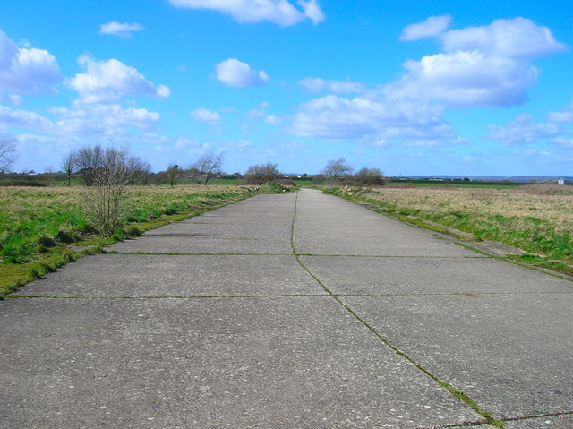 Former Taxi Road, Ford Aerodrome