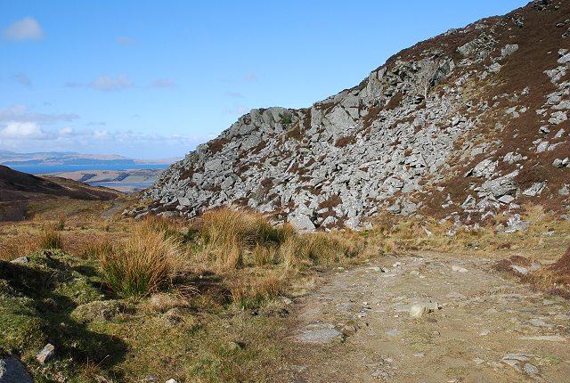 Boulder slope